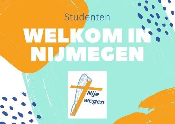 Welkom nieuwe studenten in Nijmegen